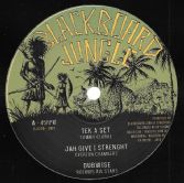 Tommy Clarke - Tek A Set / Everton Chambers - Jah Give I Strength (Blackboard Jungle) 12""